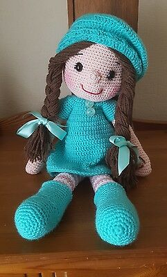 Hand Crochted Soft Toy Lillybeth Dolly