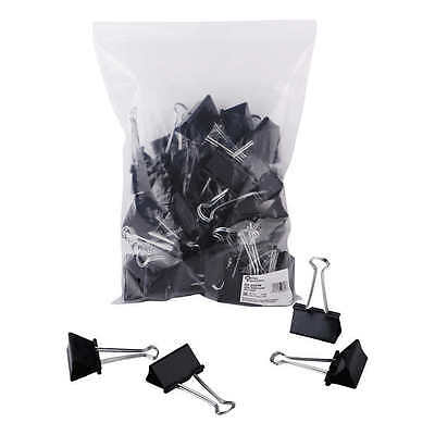 """Large Binder Clips 2"""" 36 Count Bag Case Pack Office Paper File Sturdy Strong"""