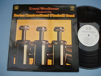 BURTON CONSTRUCTIONAL (NEWHALL) BAND ERNEST WOODHOUSE *Near Mint* 1976 LP VINYL