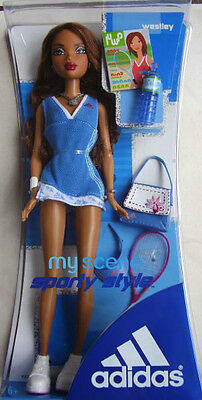 Rar★My Scene Adidas Sporty Westley/madison Neu+Ovp Barbie Mattel★Nrfb Rarität