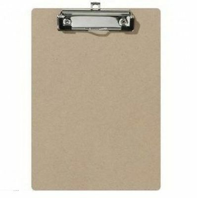 A4  Wooden Clipboard with Hanging Hole- Clip Board Holder