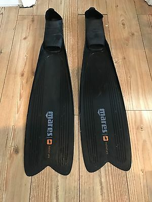 Mares Instinct Pro Freediving / Spearfishing Fins Size 11-12 (46-47)