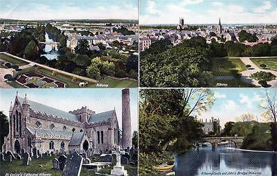 5 Kilkenny Good unused old postcards Lawrence