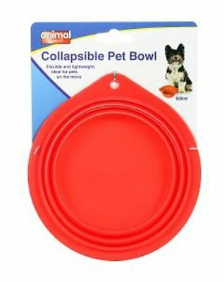 Collapsible Lightweight Travel Food Or Water Dog Cat Pet Bowl Holiday