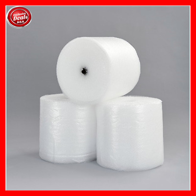 """Bubble + Wrap 1/2"""" 250 ft. x 12"""" Large Padding Perforated shipping moving roll"""
