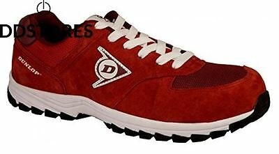 Dunlop Flying Arrow – Chaussures 46 couleur rouge