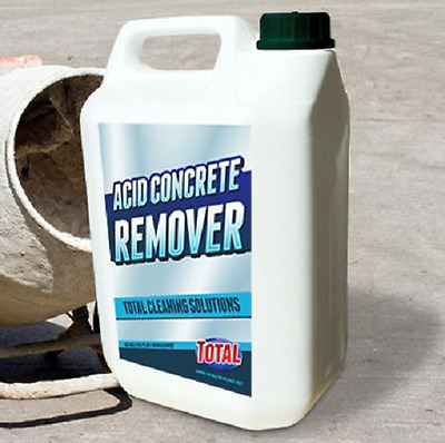 Acid concrete remover cleaner good dilution ratio can be used in a dip tank