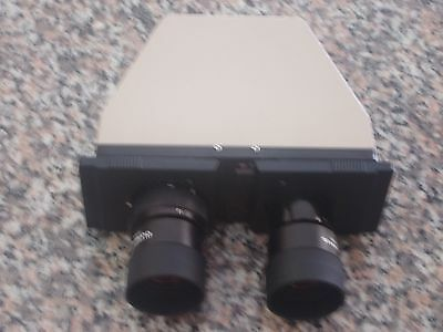 Binocular Head With Two WK 10X Eyepieces For Olympus BH2 Microscope