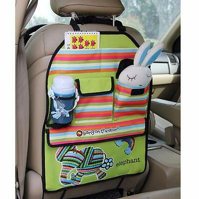 Bang on The Door Car Back Seat Organiser Protector Baby Child Back Seat Storage