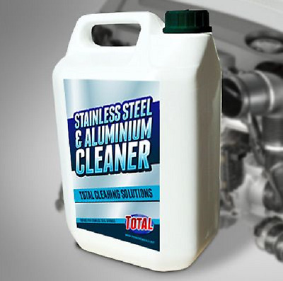 High Concentrate Stainless Steel & Aluminium Cleaner excellent dilution ratio