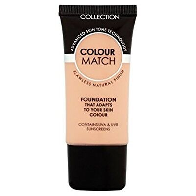 Collection Colour Match Foundation - Choose Your Shade - 30ml