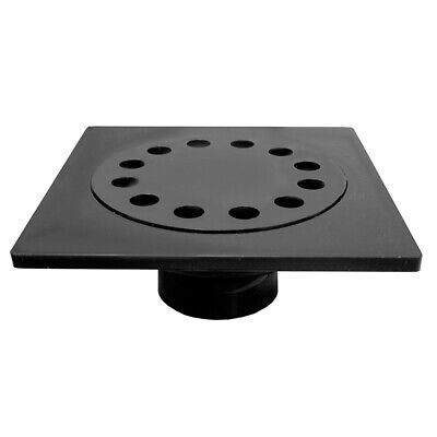"""9"""" x 9"""" ABS Bell Trap with 3"""" x 4"""" Outlet,PartNo D42012 JonesStephens"""
