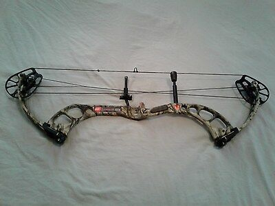 """PSE X-Force GX Compound Bow Mossy Oak Camo RH 70Lbs.29"""" EXCELLENT CONDITION"""