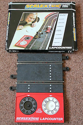 Vintage Boxed Scalextric Classic Lap Counter Recorder Very Good Condition