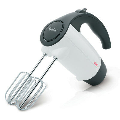 Sunbeam 200 Watt Hand Mixer, White 2524-33A
