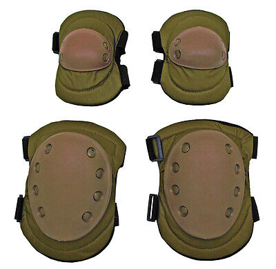 Advanced Tactical Elbow & Knee Pads Duty Gear Tactical Safety Gear Coyote Tan*