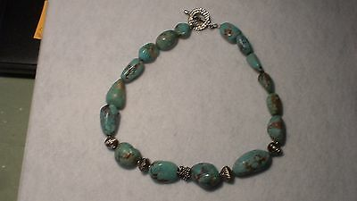 Turquoise beads, necklace, China, Tibet, modern, authentic, tourist item, real