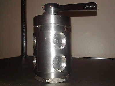 "Conant controls selector Valve C4316S2015 1/2"" 4 Way 2 Stack"