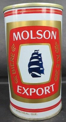 Molson Export Montreal Beer Can