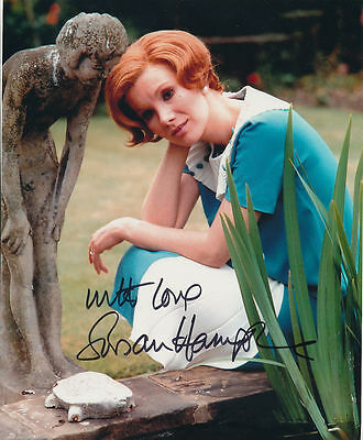 Susan Hampshire In Person Signed Photo - The Forsyte Saga - AG228