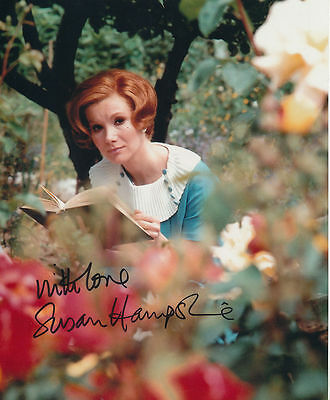 Susan Hampshire In Person Signed Photo - The Forsyte Saga - AG230
