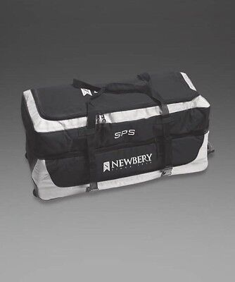 Newbery SPS Cricket Wheelie Bag Black/Silver Large Sports Hold-all