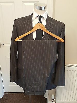 Chester Barrie Savile Row Suit 46 R Great Condition 100% Wool