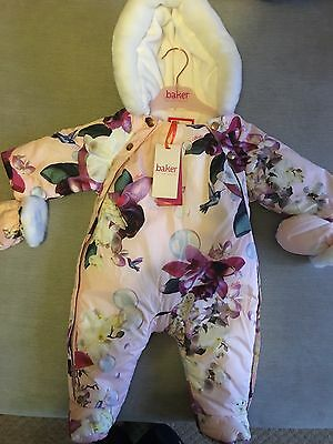 Ted Baker BNWT Girls Snowsuit 0-3 Months