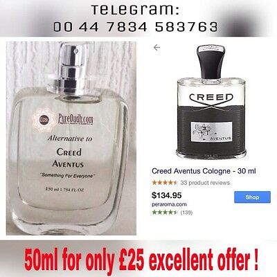 50ml Aventus Creed Inspired Spray ***PREMIUM VERSION***