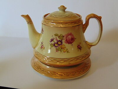 Devonware Teapot & Stand In Good Condition