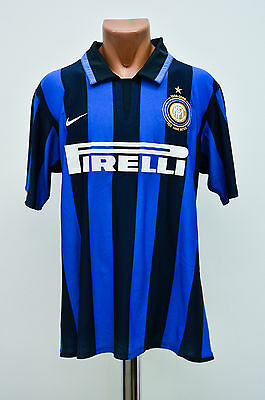 Inter Milan Italy 2007/2008 Player Issue Home Football Shirt Jersey Maglia Nike