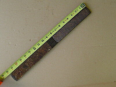"18"" Rare Nicholson RASP FILE Huge Made in U.S.A. wood horse farrier tool USA"
