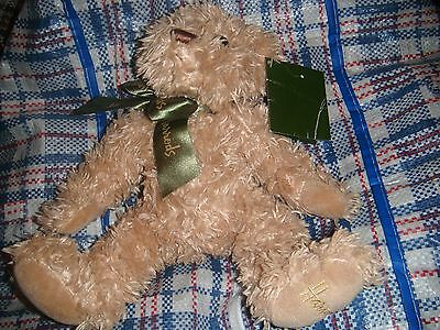 Harrods Soft toy brown bear