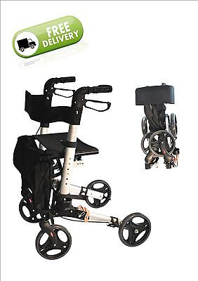 Compact Walker / Rollator with seat and bag