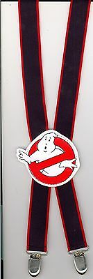 Vintage GhostBusters Adjustable Suspenders- 1988 Columbia Pictures Ind.,Inc.-New