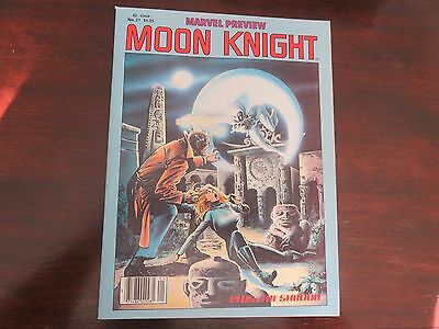Marvel Preview #21 (Spring 1980, Marvel) VF+ condition Moon Knight