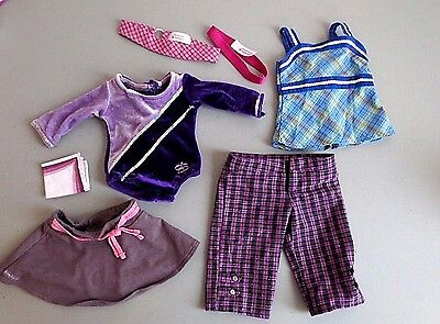 American Girl Clothes Headbands Leo Skirt Pants ---  Lot G5