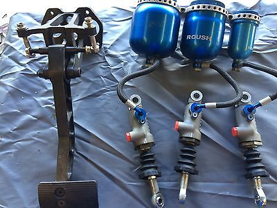 NASCAR Late Model Dirt Late Model AP Master Cylinders, Reservoirs, Pedal