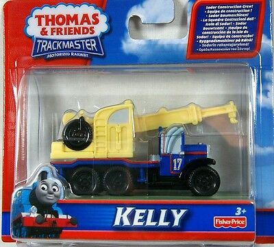 KELLY Thomas the Tank Engine & Friends TRACKMASTER construction vehicle train