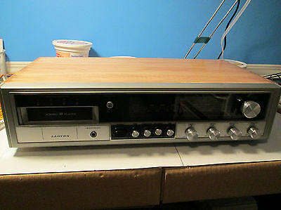Vintage Lloyd's Audio AM/FM Receiver Radio 8-Track Player DD-9690-0012