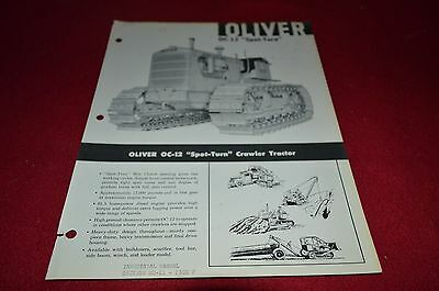 Oliver Tractor OC-12 Dealers Brochure DCPA8