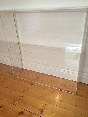 2 Tier Acrylic Perspex Display Box/ Shelves