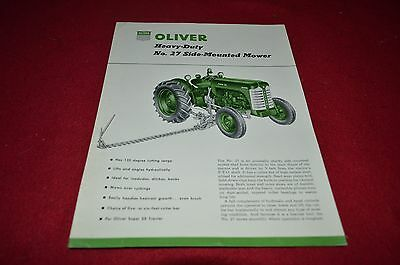 Oliver Tractor No. 27 Side Mounted Mower Dealers Brochure DCPA8