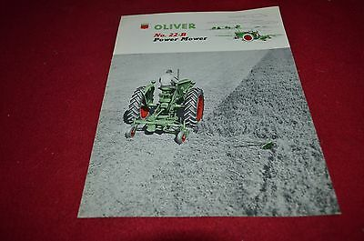 Oliver Tractor No. 22-B Power Mower Dealers Brochure DCPA8