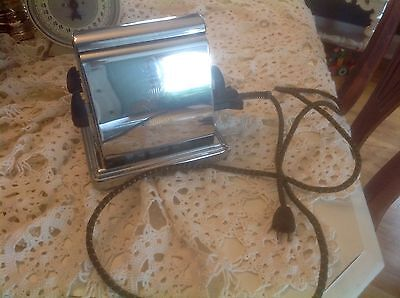 GREAT Antique VTG Toaster Dominion Electircal Mfg. Co. Chrome Works~MODEL 1109