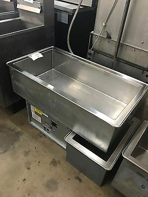 Used Atlas Metal Wcmd-C-3 Drop In Cold Food 3 Well Refrigrated W/ Thermostat