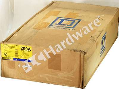New Sealed Square-D H324N Heavy Duty Single Throw Safety Switch Fusible 200A