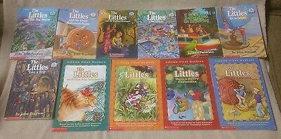 Lot of 11 THE LITTLES Children's Chapter Books Readers JOHN PETERSON Scholastic