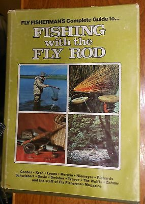 Vintage Fishing Book-  Fishing With The Fly Rod - Printed 1978 - 239 Pages
