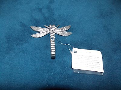 Dragonfly Pewter Hook
